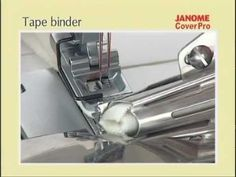 Bandeinfasser für Janome 1000 Cover Pro
