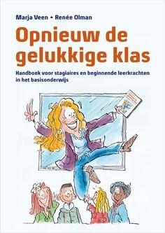 Opnieuw de gelukkige klas  Wat doe je als leerlingen niet naar je luisteren als een collega heel anders tegen de onderwijspraktijk aankijkt of als je denkt dat een les is mislukt? Hoe ga je om met pesten een boze ouder of een bezoek van de Inspectie van het Onderwijs? Als stagiaire of (beginnende) leerkracht in het basisonderwijs kun je met nogal wat vragen zitten. Geïnspireerd door het boek 'De gelukkige klas' van Theo Thijssen schreven Marja Veen en Renée Olman 'Opnieuw de gelukkige klas'…
