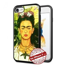 Frida Kahlo Apple iPhone 7 Case Picture Art Design Cover Slim Rubber Case by SURIYAN, http://www.amazon.com/dp/B01NB8KFA8/ref=cm_sw_r_pi_dp_x_WvoFzb4P0N8A1