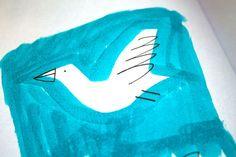 seagull sketch, Little Compton, RI by Cyrus Highsmith