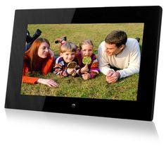 Digital pic frame full of ur kid / child being baptize  pictures