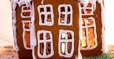 ♥ Fyra årstider - mitt liv på landet: Pepparkakshus