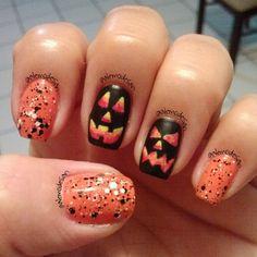 halloween by alemodesan  #nail #nails #nailart