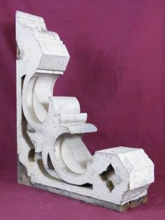 Columbus Architectural Salvage - Large Wood Corbel Bracket $225 each