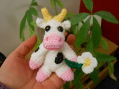 Silly Cow Amigurumi ~ Free Download Pattern
