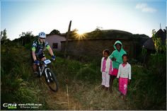 Mountain bike race to support local Umngazi community on the Wild Coast of the Eastern Cape in South Africa. Mountain Bike Races, Support Local, South Africa, Cape, Bicycle, Racing, Community, Mantle, Bicycle Kick