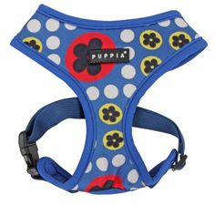 Puppia Authentic Blossom Harness A XLarge Royal Blue -- You can find more details by visiting the image link.