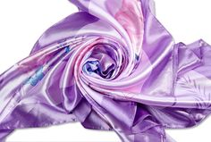 Discount China Wholesale big silk stain square scarf light purple qs0008 [qs0008]- US$13.50 - www.scarves4ever.com