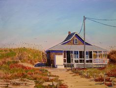 Nags Head, NC ....we drive past this old cottage going up the Beach Road..........