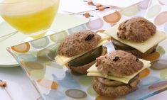Receta de Bollos integrales de yogur y pasas con zumo de melón