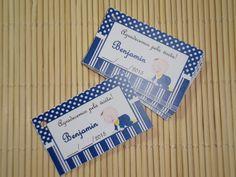 Tag Cartão Lembrancinha Bebê