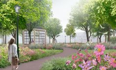LOOSvanVLIET - The Wezentuin, Den Burg, Texel Sidewalk, Van, Drawings, Plants, Sketches, Vans, Walkways, Draw, Planters