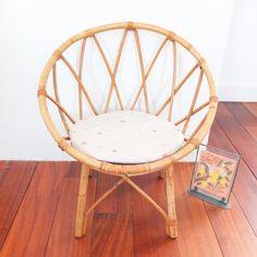 Petit fauteuil en rotin - Vintage Magic