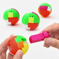 Creative Ball Puzzle Cube Capsule Pinata Intelligence Assembling Ball For Pendant Children Birthday Favors Game Toys Prize Gift Birthday Games, Birthday Favors, Birthday Kids, Puzzle Cube, Puzzles, Puzzle Toys, Kids Hands, Play, Classic Toys