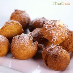 Daphne Oz's No Bake Challenge Donuts! #TheChew #NoBakeDessert