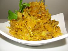 The main ingredient in Abacha is dried shaved cassava. The cassava is re-hydrated with water and combined with spices and seasonings. African Salad, Indian Food Recipes, Ethnic Recipes, African Recipes, West African Food, Around The World Food, Nigerian Food, Caribbean Recipes, Caribbean Food