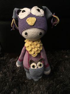 owl mod made by Talke A. / based on a lalylala crochet  pattern