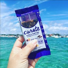 This was a great snack for the sandbar today!  Super convenient and yummy and packed a lot of goodness!  It was actually pretty filling