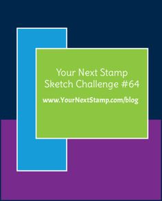 Sketch and Color Challenge #64 More Inspiration     Your Next Stamp