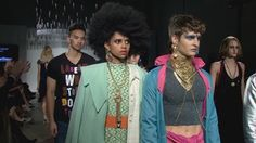 Thursday night, Eco Fashion Week and Value Village presented Runway Reimagined: Project 8.1 at the Canvas Event Space. The show features designers and stylists from many corners of the Pacific Northwest, with a focus on local Seattle talent.
