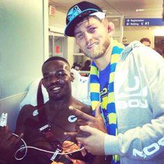 Post Fight Hospital Photo Of Alexander Gustafsson And Jon Jones