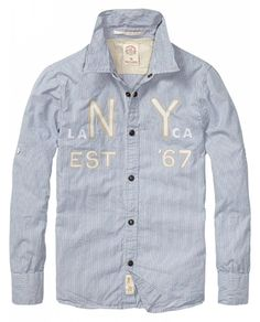 Peached Worker Shirt With Chest Artwork > Kids Clothing > Boys > Shirts at  Scotch Shrunk