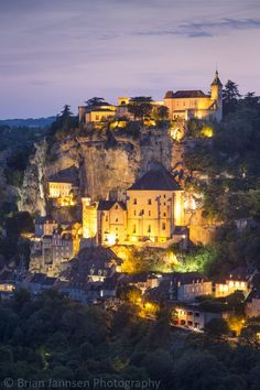 Rocamadour, Lot Valley, Midi-Pyrenees, France. © Brian Jannsen Photography