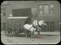 [Ice Delivery from the American Ice Company to Emmanuel House] - Emmanuel House lantern slide collection
