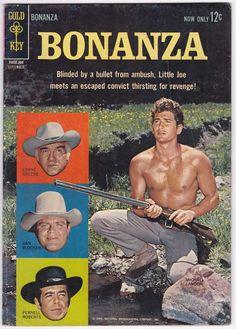 Bonanza #4 VG 4.0 Dell Western 1963!   eBay