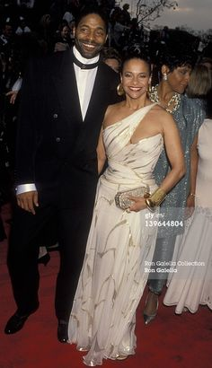Actress Debbie Allen, husband Norman Nixon and Phylicia Rahad attending 65th Annual Academy Awards on March 29, 1993 at the Dorothy Chander Pavilion in Los Angeles, California. (Photo by Ron Galella/WireImage)