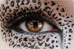 New goal: learning how to accomplish this. Cat Halloween Makeup, Makeup Designs, Fantasy Makeup, Eye Art, Costume Makeup, Creative Makeup, Cool Eyes, Beautiful Eyes, Face And Body
