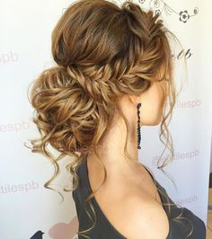 Like what you see? Follow me for more: @nhairofficial Hairdo For Long Hair, Wedding Hairstyles For Long Hair, Formal Hairstyles, Short Bob Hairstyles, Braided Hairstyles, Bridal Hairstyle, Bridesmaid Hair, Bridesmaids Hairstyles, Braid Styles