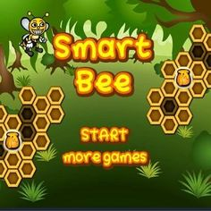 #Smart Bee is a #puzzle #game in which you must control all of the #bees and use them to #collect all #resources in the #hive.