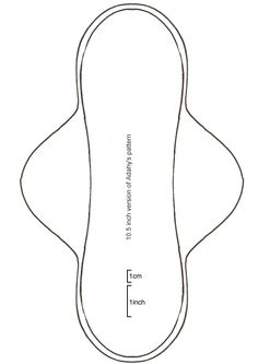 (I'm a marketing genius, right?) I also have some free patterns available here but I'll be honest – some of these patterns were uploaded in about 2002 – back then pad shape… Sewing Crafts, Sewing Projects, Sewing Tips, Sewing Ideas, Feminine Pads, Reusable Menstrual Pads, Days For Girls, Sanitary Towels, Mama Cloth