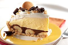 Peanut Butter-Chocolate Banana Cream Pie recipe  @Alex Jones Jones Jones Jones Jones Jones Schneider