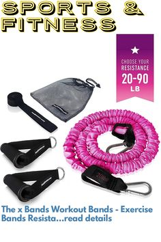 (This is an affiliate pin) The x Bands Workout Bands - Exercise Bands Resistance Bands - Leg Resistance Bands - Resistant Bands Workout Set - Resistance Bands Set with Padded Handles and Door Anchor Attachment Exercise Bands, Resistance Bands, Anchor, Legs, Workout, Work Out, Anchor Bolt, Anchors, Bridge