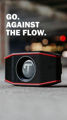 ROCKSTER GO: Es kommt nicht auf die Größe an. #machlaut #followyoursound ✓ Kompakter Bluetooth-Stereo-Speaker mit druckvollem Sound für jede Gelegenheit ✓ Für Drinnen & Draußen: wasserdicht nach IPX7, gummiertes Gehäuse bietet Schutz vor Stößen ✓ Zwei Vollbereichs-Treiber und ein passiver Basstreiber für echten, satten Stereo-Sound dank Dynamore-Technologie ✓ Bluetooth® mit aptX™ ermöglicht Musiktreaming von Deezer, Spotify & Co. in CD-ähnlicher Qualität