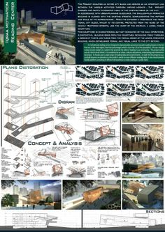 Graduation Project Iqraa Library Center by Esraa Yarub  Al-Sharaa |  إسراء يعرب الشرع, via Behance