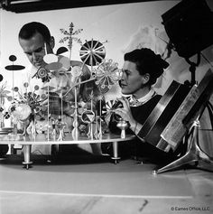 Explore, play, and learn something new! #eames #solar do nothing machine