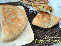 Calzone senza lievito - cottura in padella - Maky in Cucina