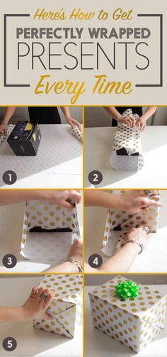 Here's How To Wrap A Present With Department Store Precision