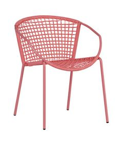 Sophia Hot Pink Dining Chair (outdoor chair) cb2 $85