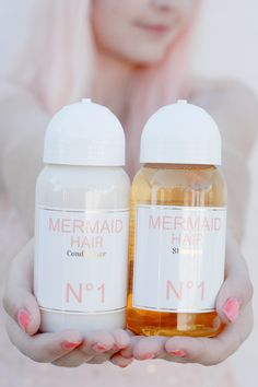 Who doesn't want Mermaid Hair? This Shampoo & Conditioner may just get me there...photo by Ahoy Miss. #gracesway #wishlist
