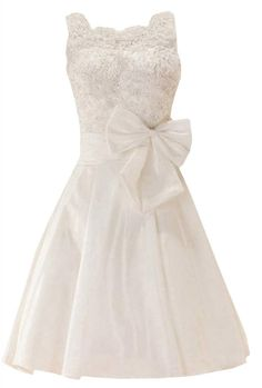 Leddawan Women's Dress Long Taffeta Straps With Beaded Lace and Bows XXX-Large White. Hand wash cold hang dry. Imported (100% polyester). Great for prom dresses, evening dresses, unique wedding dress.