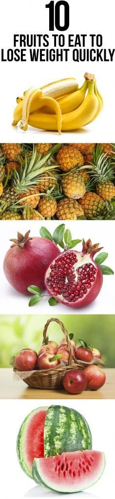 Top Fruits To Eat To Lose  weight fast! #healthy