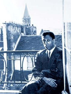 James Baldwin, in Paris