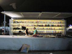 Levinski Garden Library in Tel Aviv