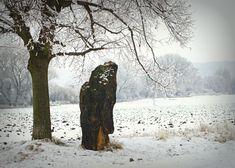 menhir baba, Slavětín, ČR