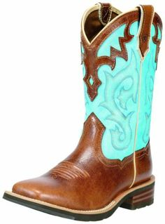 Ariat Western Boots Womens Unbridled 7.5 B Coyote Brown 10010195