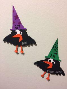 7/23/2018 Halloween Crow Door Decs